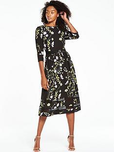 v-by-very-printed-34-sleeve-midi-dress