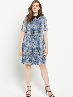 lovedrobe-lovedrobe-printed-collar-shift-dress