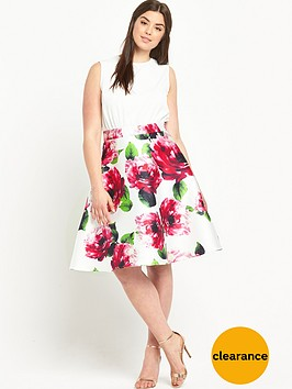 ax-paris-curve-floralnbspprint-dress