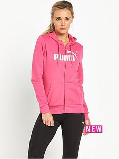 puma-essential-no1-full-zip-hoodie-pink