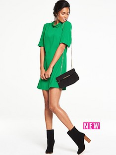 v-by-very-high-neck-swing-dress
