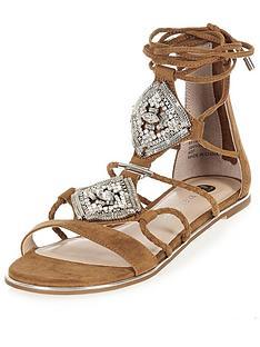 river-island-embellished-flat-ankle-tie-sandal