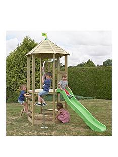 tp-castlewood-dover-wooden-climbing-frame-amp-slide