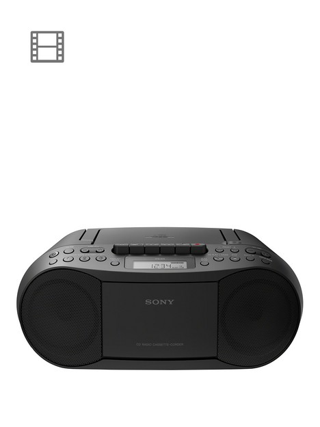 sony-cfd-s70-portable-cd-radio-cassette-player-black