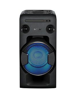 Sony Mhc-V11 High Power Home Audio System With Bluetooth - Black