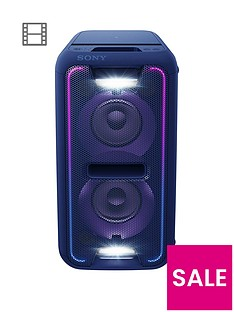 sony-gtk-xb7nbspextra-bass-high-powernbspbluetoothnbsppart-link-home-audio-system-blue