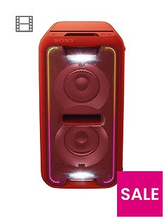 sony-gtk-xb7-extra-bass-high-powernbspbluetoothnbsppart-link-home-audio-system-red