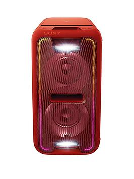 Sony Gtk-Xb7 Extra Bass High Power, Bluetooth, Nfc, Part Link Home Audio System- Red