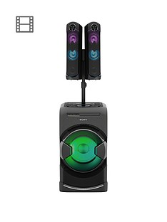 sony-mhc-gt4-hybrid-audio-system-bluetooth-nfc-for-tv-sound-and-house-parties-with-gesture-control--bla