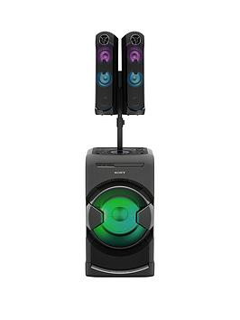 sony-mhc-gt4-hybrid-audio-system-bluetooth-nfc-for-tv-sound-and-house-parties-with-gesture-control-black