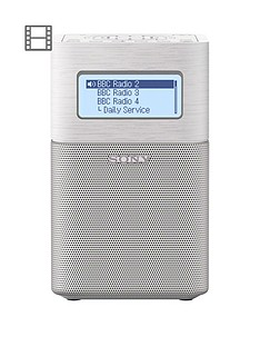 sony-xdr-v1btd-digital-radio-with-bluetooth-amp-nfcnbsp--white