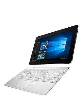 asus-t100-ha-fu004t-intelreg-atomreg-processor-2gb-ram-32gb-hard-drive-10-inch-touchscreen-2-in-1-laptopnbspwith-microsoft-office-personal-365-white