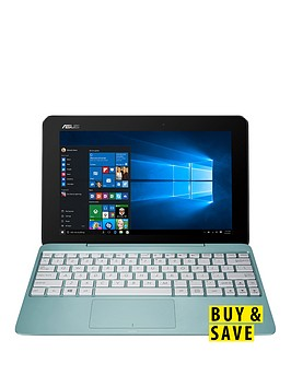 asus-t100-ha-fu005t-intelreg-atomreg-processornbsp2gbnbspramnbsp32gbnbspstoragenbsp10-inchnbsptouchscreen-2-in-1-laptopnbspwith-microsoft-office-personal-365-blue