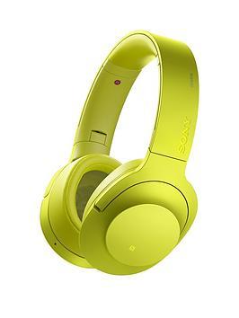 sony-mdr-100abn-hear-on-wireless-headphones-lime