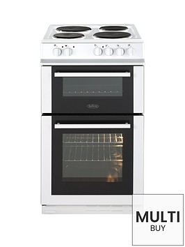 belling-fs50et-twin-cavity-50cm-electric-cooker-with-optional-connection-white