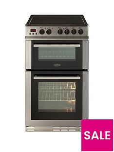 belling-fs50edopc-50cm-double-oven-electric-ceramic-cooker-with-optional-connection-stainless-steel
