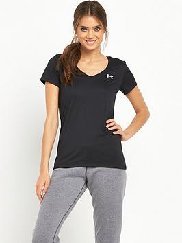 under-armour-techtrade-short-sleeve-t-shirt-black