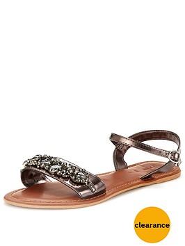 v-by-very-dazzle-embellished-metallic-flat-sandal
