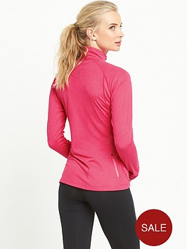 asics-long-sleeve-12-zip-jersey-pink
