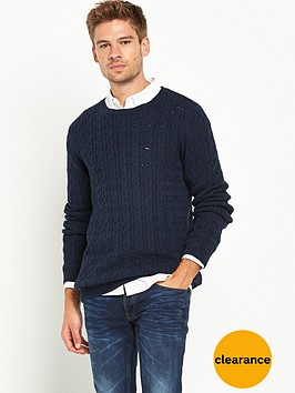 hilfiger-denim-cable-knit-jumper