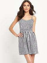 Stripe Sundress Petite