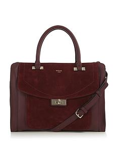 guess-kingsley-suede-panel-tote-bag