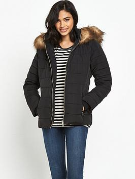 miss-selfridge-quilted-jacket-with-fauxnbspfur-hoodnbsp