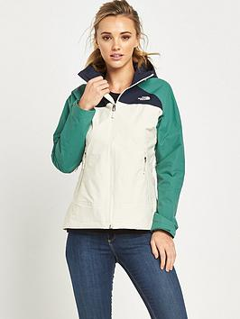 the-north-face-stratosnbspjacket-whitegreen