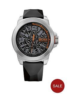 hugo-boss-hugo-boss-new-york-black-textrued-dial-black-silicone-strap-mens-watch