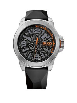 hugo-boss-hugo-boss-new-york-black-textrued-dial-black-silicone-strap-mens-watch