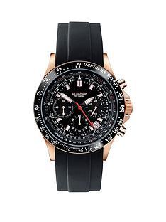 sekonda-sekonda-black-chronograph-black-rubber-strap-mens-watch