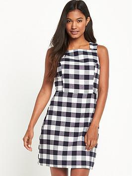 oasis-check-dress