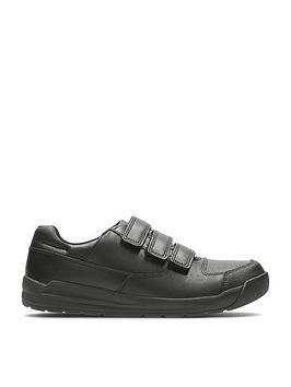 clarks-junior-boys-flare-litenbspstrap-school-shoes