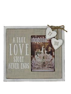 true-love-story-6x4-photo-frame