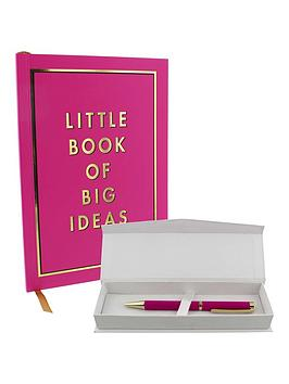 by-appointment-little-book-of-big-ideas-a5-notebook-amp-pen-set