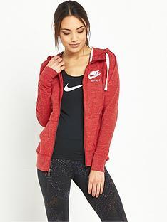 nike-gym-vintage-hoodie-red