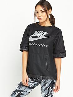 nike-international-sweat-top-black