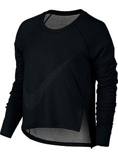 nike-dry-long-sleeved-training-top-black