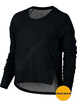 nike-dry-long-sleeved-training-top-black