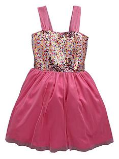 v-by-very-girls-sequined-bodice-dress-with-tulle-skirt