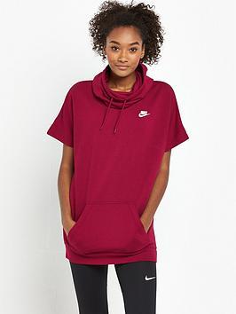 nike-short-sleeved-hoodie