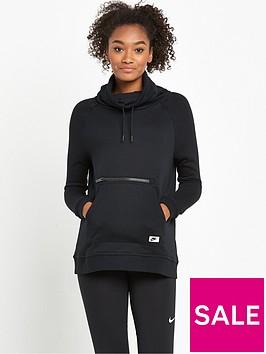 nike-modern-funnel-neck-hoodie-black