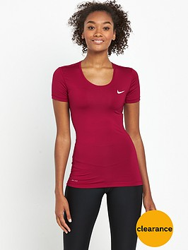 nike-pro-cool-top-red