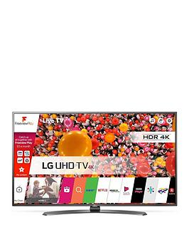 Lg 55Uh661V 55 Inch, 4K, Ultra Hd, Hdr, Smart Led Tv With Metallic Design - Black