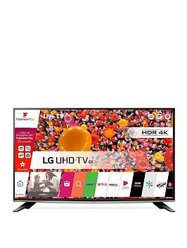 Lg 58Uh635V 58 Inch 4K Ultra Hd Smart Led Tv - Black