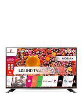 50UH635V50 inch, 4K Ultra HD, Smart LED TV - Black
