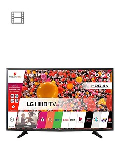 LG 49UH610V 49 inch 4K Ultra HD Smart LED TV with Ultra Slim Design