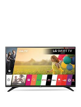 Lg 32Lh604V 32 Inch, Full Hd, Smart, Led Tv With True Black Panel And Metallic Design - Black
