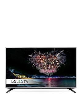 Lg 49Lh541V 49 Inch, Full Hd, Freeview Led Tv With Metallic Design - Black
