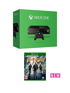 xbox-one-500gb-console-with-the-division-with-additional-controller-and-12-months-xbox-live-gold